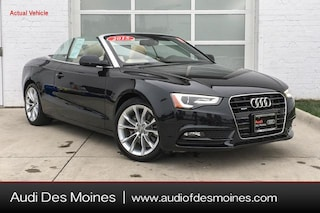 Used 2014 Audi A5 2.0T Premium Plus (Tiptronic) Convertible Johnston, IA