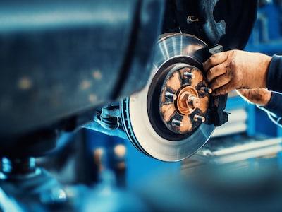 Audi Genuine Brake Service, includes Pads & Rotors