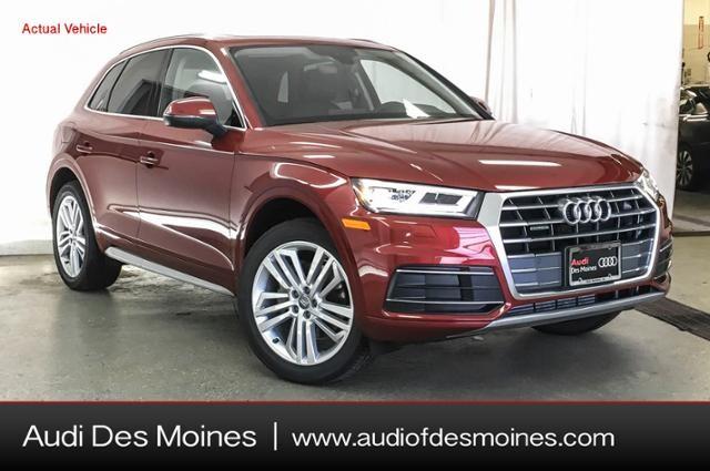 New 2019 Audi Q5 2.0T Premium Plus SUV Des Moines, IA