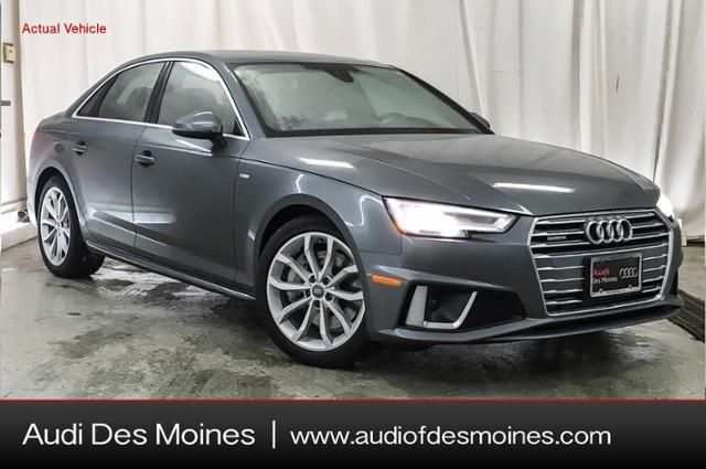 New Audi A4 2019 Audi A4 2.0T Premium Plus Sedan for sale in Calabasas, CA