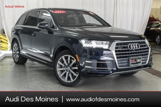 Certified Pre-Owned 2017 Audi Q7 3.0T Premium Plus SUV Johnston, IA