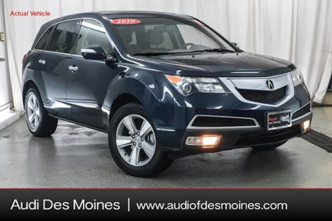 Used 2010 Acura MDX 3.7L SUV Johnston, IA