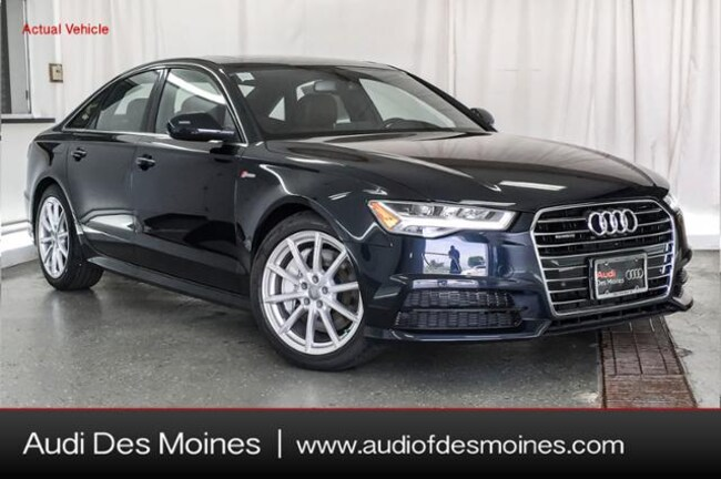 New 2018 Audi A6 3.0T Premium Plus Sedan Johnston, IA