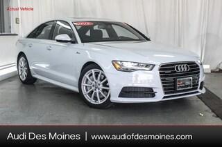 Used 2018 Audi A6 3.0T Premium Plus Sedan Johnston, IA