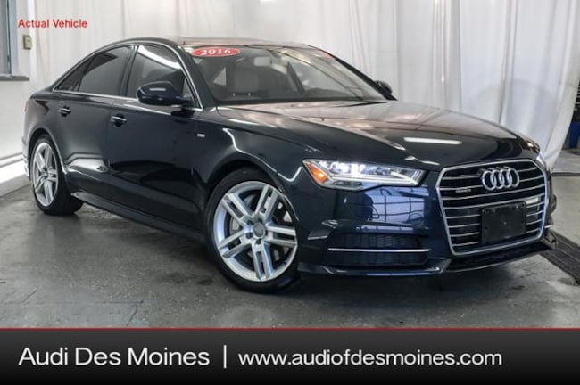 Certified Pre-Owned 2016 Audi A6 2.0T Premium Plus Sedan Johnston, IA