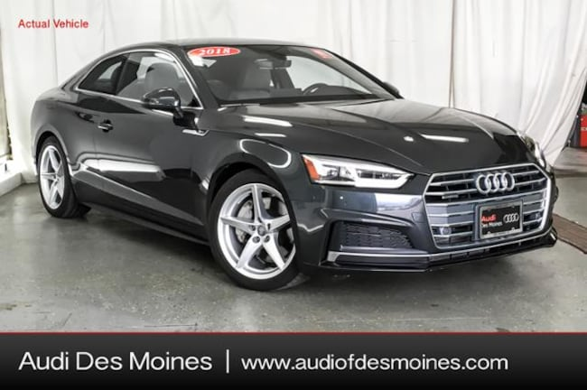 Certified Pre-Owned 2018 Audi A5 2.0T Premium Plus Coupe Johnston, IA
