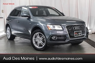 Certified Pre-Owned 2016 Audi Q5 3.0T Premium Plus SUV Johnston, IA