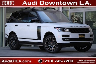 2015 Land Rover Range Rover 5.0L V8 Supercharged 4WD  Supercharged