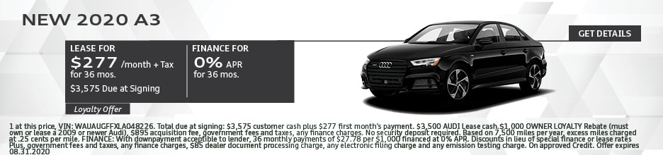 2020 A3 LEASE 277/36 MONTHS