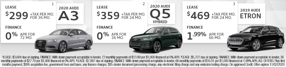 OEM - LEASE SPECIALS