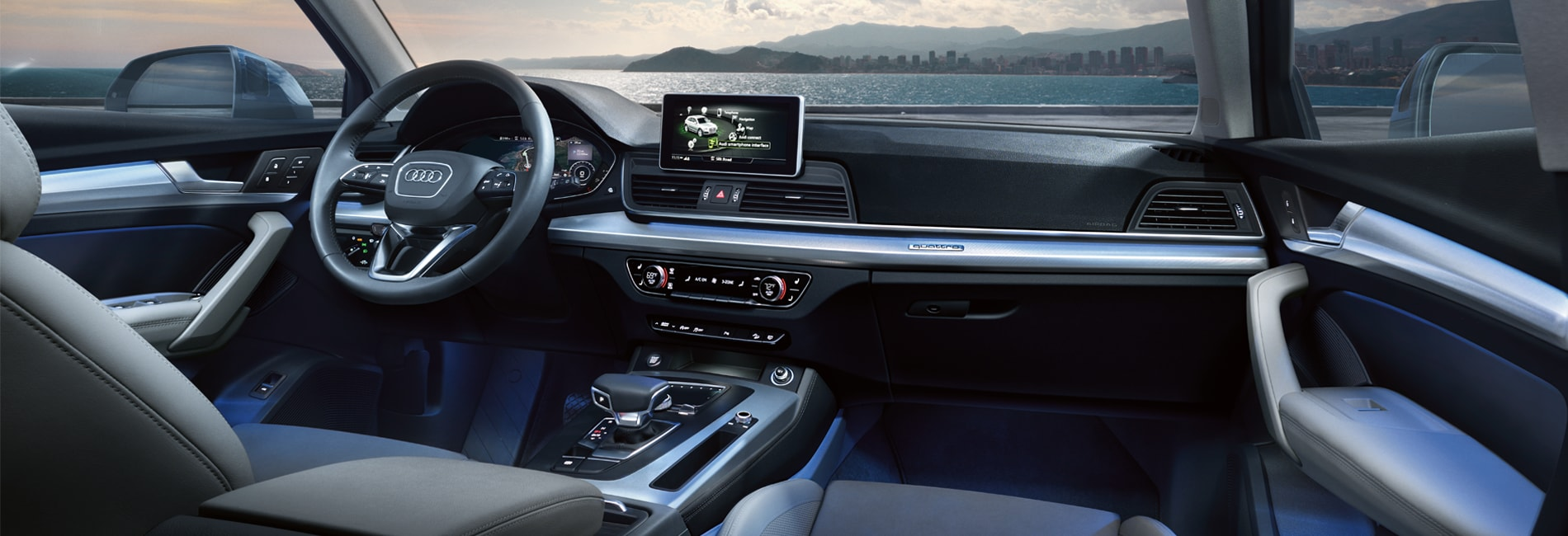 Audi Q5 Interior Vehicle Features