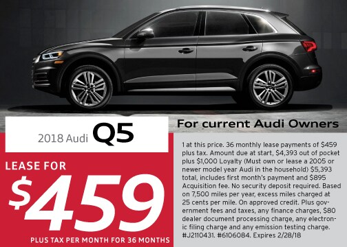 New Audi Q Specials And Offers Los Angeles Audi Downtown LA - Current audi offers