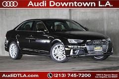 New 2019 Audi A4 2.0T Premium Plus Sedan Los Angeles
