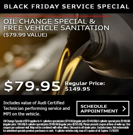 Oil Change Special & Free Vehicle Sanitation