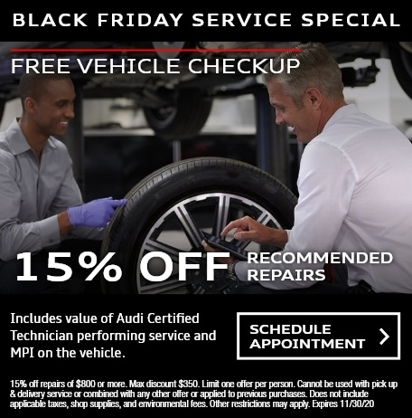 Free Vehicle Checkup & 15% Off Recommended Repairs