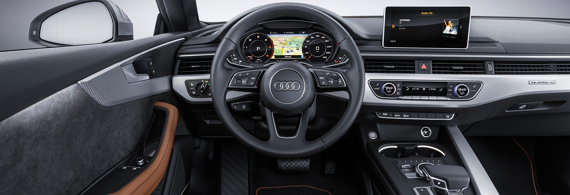 Audi A5 Interior Vehicle Features