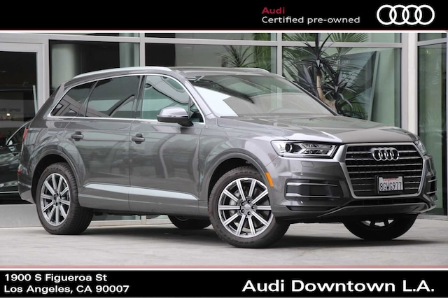 Audi Los Angeles >> Certified Pre Owned Audi For Sale In Los Angeles Audi Downtown La