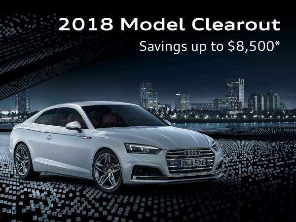 2018 Model Clearout Savings up to $8,500
