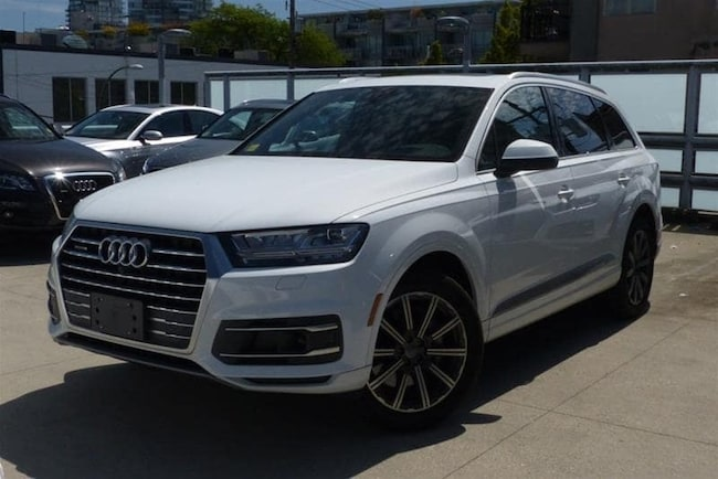 2018 Audi Q7 for Sale - Certified Pre-Owned   Audi Downtown Vancouver