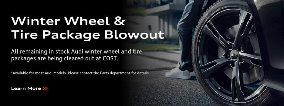 Winter Wheel & Tire Package Blowout