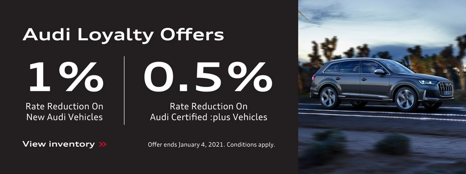 Audi Loyalty Offers
