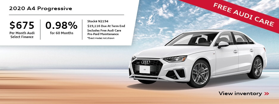2020 A4 Special Payment Offer