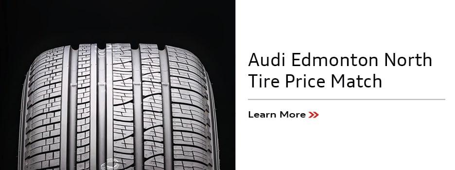 Audi Edmonton North Tire Price Match
