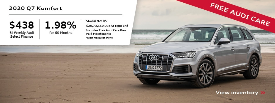2020 Q7 Special Payment Offer