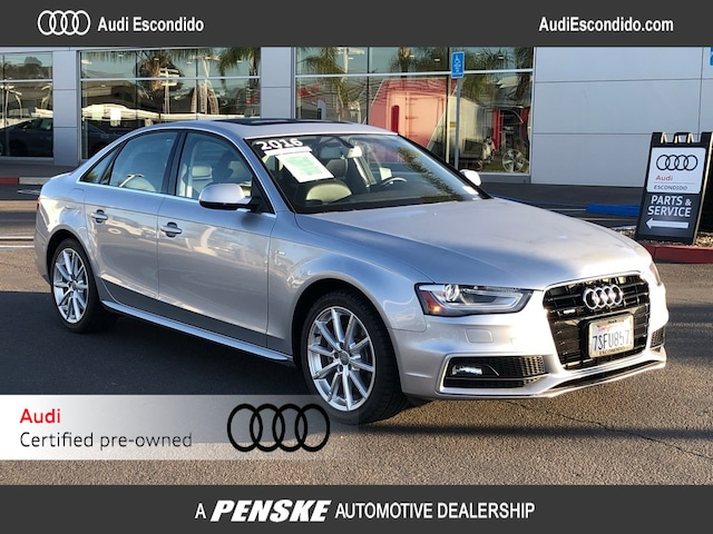 Certified Pre-Owned 2016 Audi A4 2.0T Premium (Tiptronic) Sedan  for sale in Escondido, CA