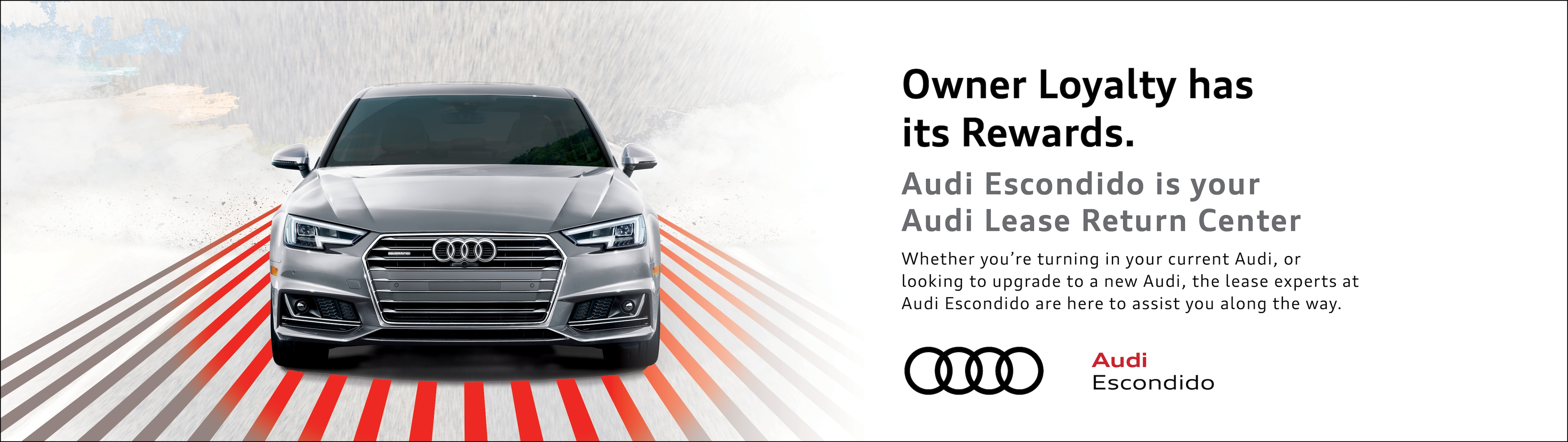 Lease Return Center Audi Escondido Escondido CA - Audi loyalty