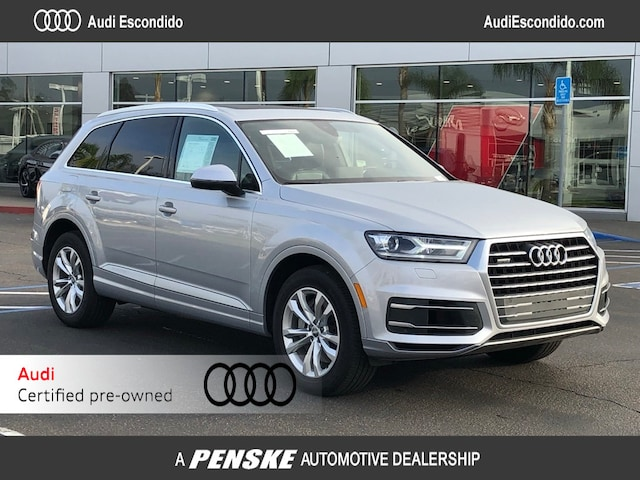 Audi Certified Pre Owned >> Certified Used Audi Luxury Cars Suvs For Sale Audi Escondido Dealer