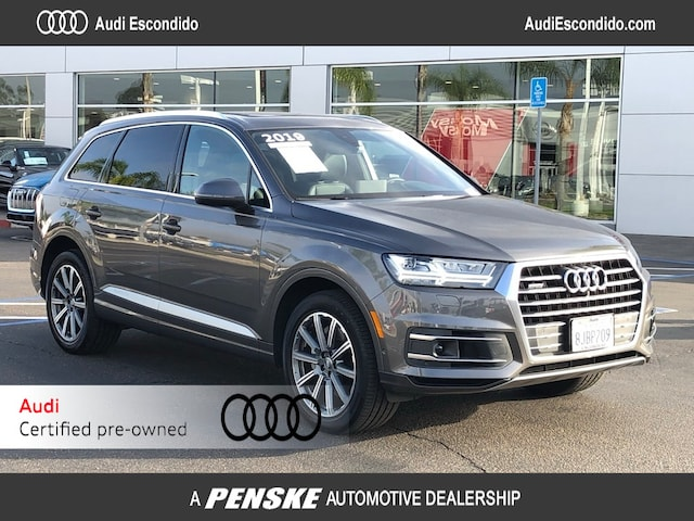 Used 2019 Audi Q7 SUV for Sale in Escondido, CA