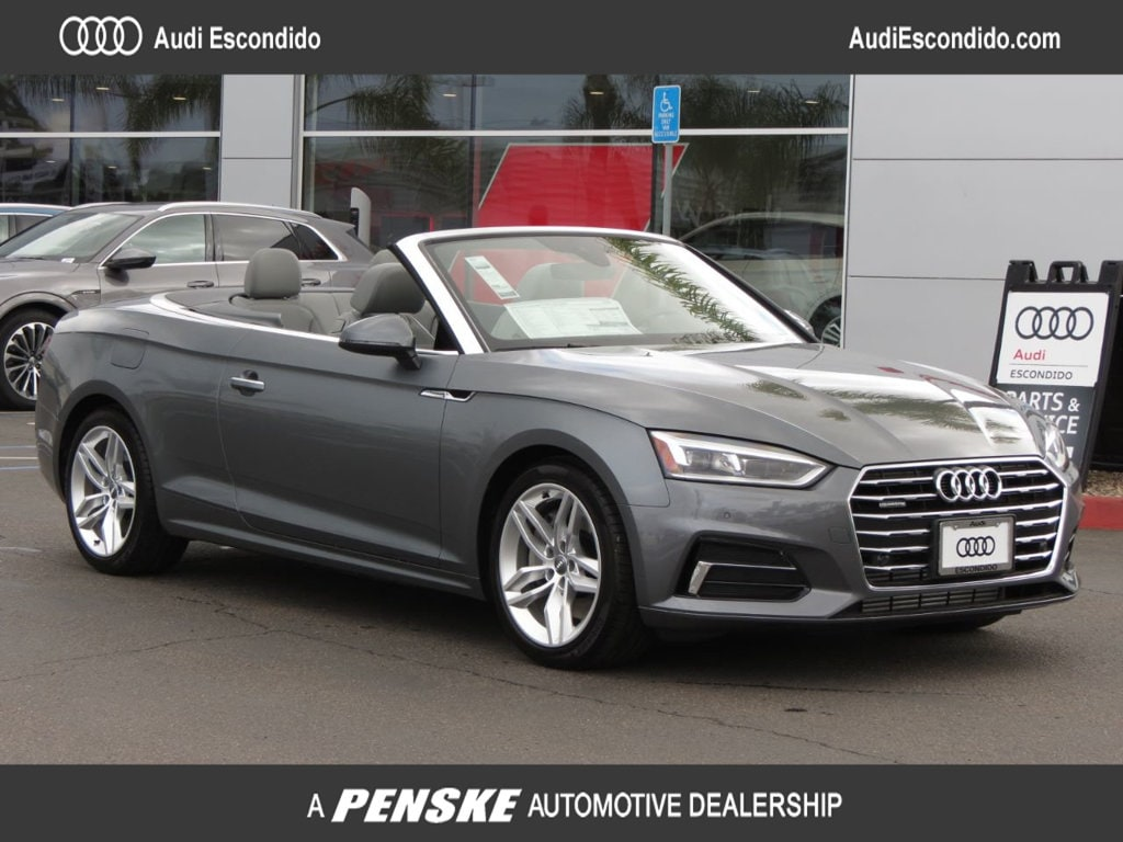 New 2019 Audi A5 2.0T Premium Plus Cabriolet Escondido, CA