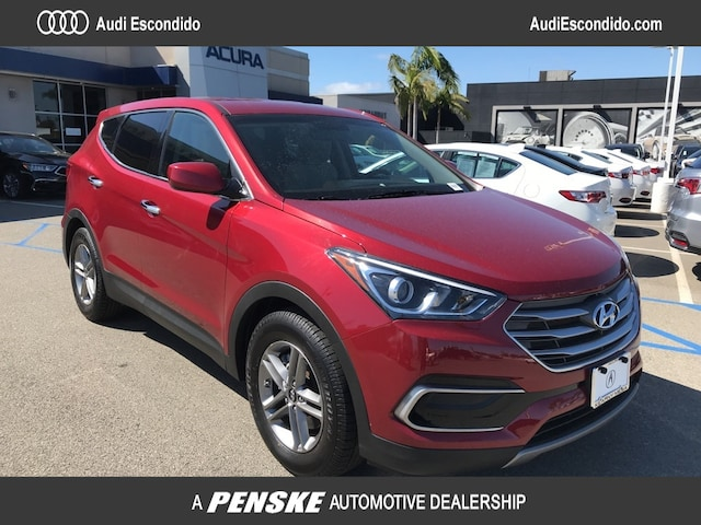 Used 2017 Hyundai Santa Fe Sport 2.4L SUV for Sale in Escondido, CA