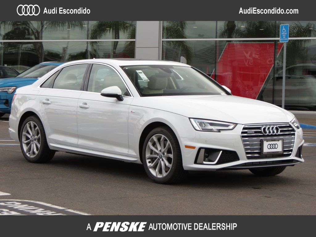 New 2019 Audi A4 2.0T Premium Plus Sedan Escondido, CA