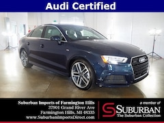 Certified Pre-Owned 2018 Audi A3 2.0T Sedan HP4377 Farmington Hills, MI