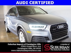 Certified Pre-Owned 2016 Audi Q3 2.0T Premium Plus SUV H118949A Farmington Hills, MI