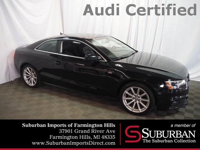 Certified Pre-Owned 2016 Audi A5 2.0T Premium Coupe Farmington Hills, MI