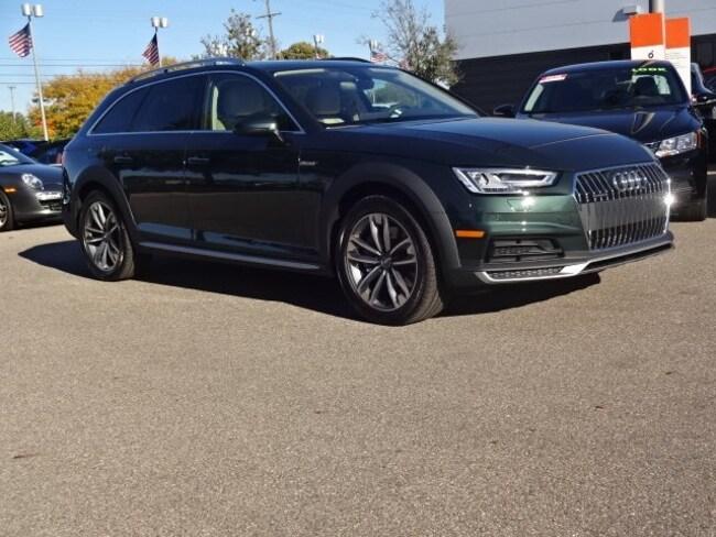 New 2018 Audi A4 allroad 2.0T Tech Premium Wagon Farmington Hills, MI