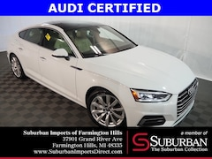 Certified Pre-Owned 2018 Audi A5 2.0T Premium Sportback HP4508 Farmington Hills, MI