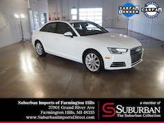 Certified Pre-Owned 2017 Audi A4 2.0T Premium Sedan HP4309 Farmington Hills, MI