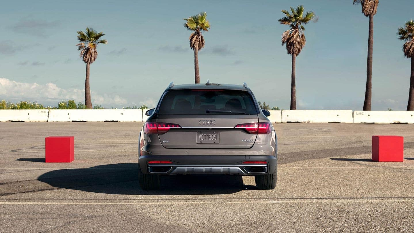 2020 Audi A4 Allroad rear view