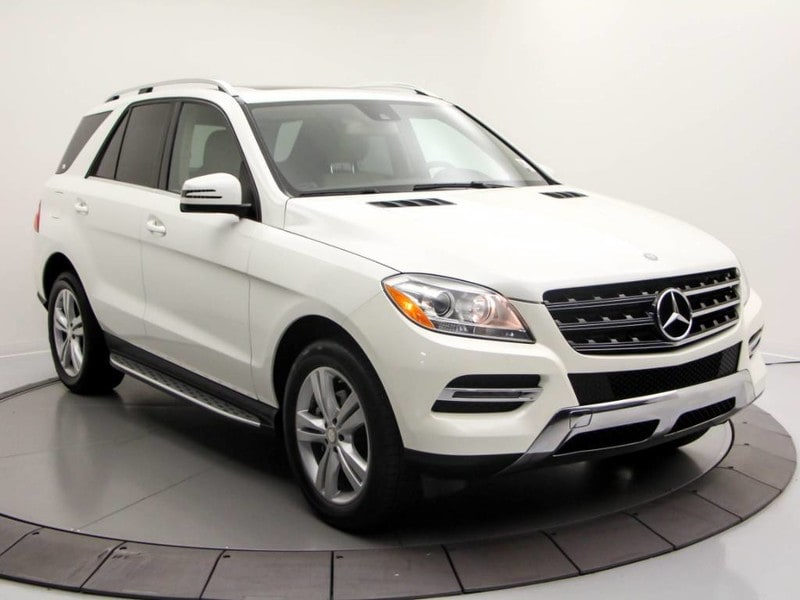 2014 Mercedes Benz M Class 4matic 4dr ML 350 Bluetec SUV
