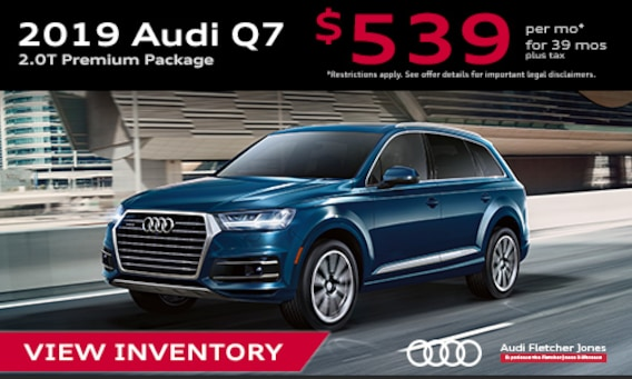 New 2019 Audi Q7 SUVs For Sale in Costa Mesa, CA