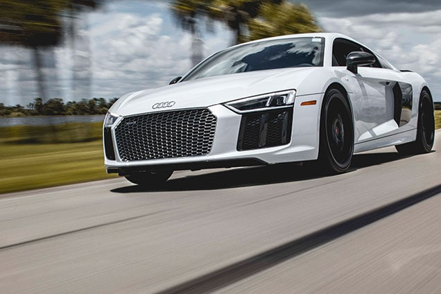Driving the Audi R8