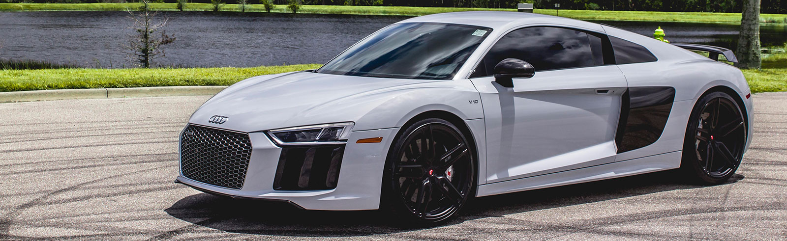 Audi R8 with Vossen Wheels