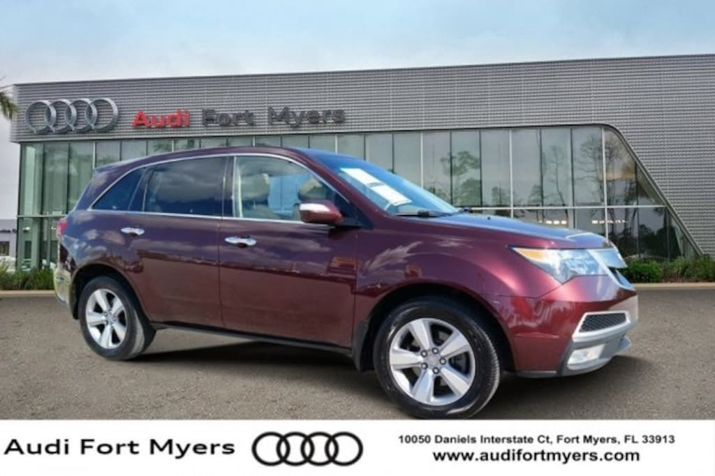 Acura Fort Myers >> Used 2013 Acura Mdx For Sale At Audi Fort Myers Vin