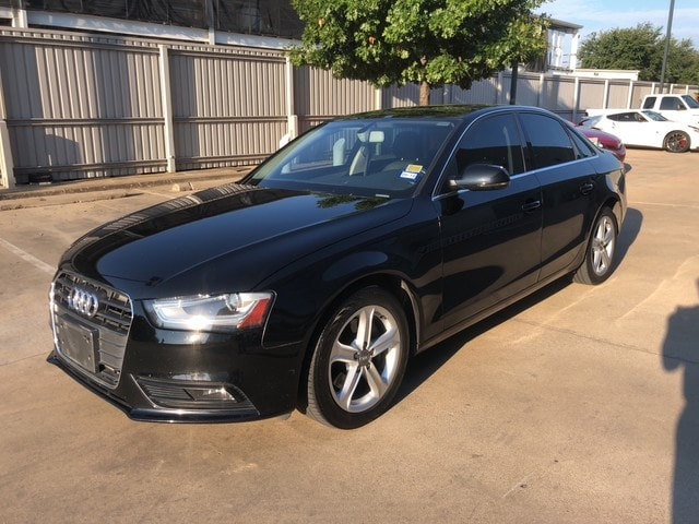 Used 2013 Audi A4 For Sale at Audi Fort Worth   VIN