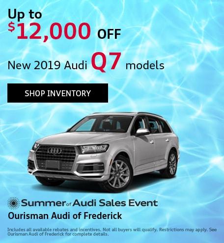 August | 2019 Audi Q7