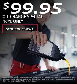 $99.95 Oil Change Special 4CYL Only